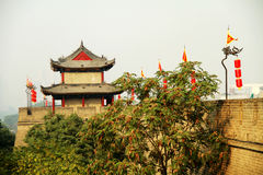 Wall of China Guardtower Royalty Free Stock Photography