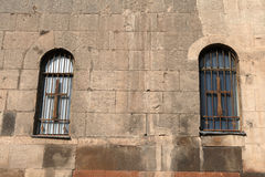 Wall of church. The wall of church, Republic of Armenia Stock Photo