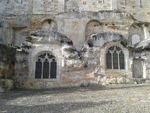 A wall church in Saint-Emilion, France. Wall church in Saint-Emilion, France royalty free stock images