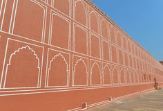 Wall of City Palace, Jaipur Stock Photos