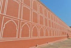 Wall of City Palace, Jaipur Stock Photos