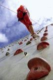 Wall Climbing Stock Photography