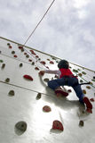 Wall Climbing Stock Photography