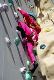 Wall Climbing Outdoors Stock Photos