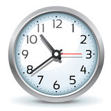 Wall Clock Royalty Free Stock Photography