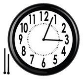 Wall clock Royalty Free Stock Image