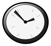 Wall clock 2 stock illustration