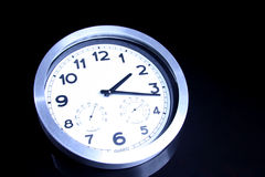 Wall clock royalty free stock photo