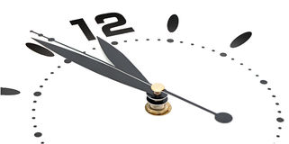 Wall clock Stock Image