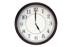 Free Wall Clock Royalty Free Stock Image - 39644196