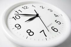 Wall Clock Royalty Free Stock Photography