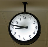 Wall clock - Business time Royalty Free Stock Images