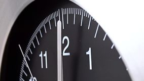 Wall clock stock video footage