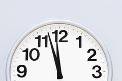 Wall clock detail Stock Photography