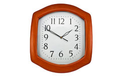 Wall clock dial Royalty Free Stock Photography