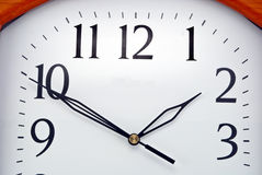 Wall clock dial Stock Image