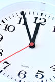 Wall clock dial Stock Photography