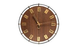 Wall clock face Royalty Free Stock Image
