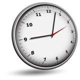 Wall clock face Stock Photography