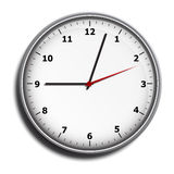 Wall clock face Royalty Free Stock Photo