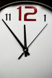 Wall Clock, fragment Royalty Free Stock Images