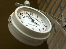 Wall clock on Grand central terminal in New York Stock Photo