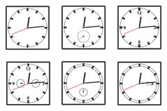 Wall clock icon Royalty Free Stock Image