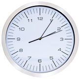 Wall Clock isolated Stock Photo
