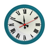 Wall clock Stock Photos