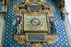 Wall clock in Paris Royalty Free Stock Image