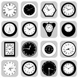 Wall clock set Royalty Free Stock Photos