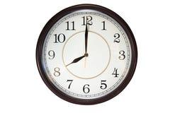 Wall clock Royalty Free Stock Photo