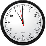 Wall Clock - Showing 11 O`Clock Stock Photos