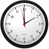 Wall Clock - Showing 2 O`Clock. Business Concept, Wall Clock - Showing 2 O`Clock Stock Image