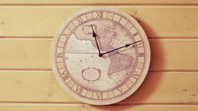 The wall clock. Time lapse stock video footage
