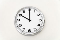 Wall clock, time measurement, close up Stock Images