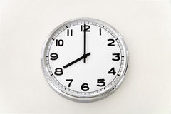 Wall clock, time measurement, close up Royalty Free Stock Photo