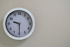 Wall clock time is 9:30 Royalty Free Stock Images