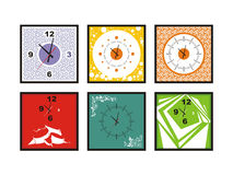 Wall clock vector Stock Photo