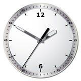 Wall clock. Vector illustration. Royalty Free Stock Photo
