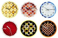 Wall clocks 1 Royalty Free Stock Photos