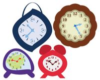 Wall clocks Stock Photo