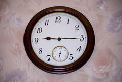 Wall clocks. Stock Photography