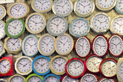 Wall Clocks Stock Image