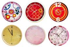 Wall clocks 2 Royalty Free Stock Photo