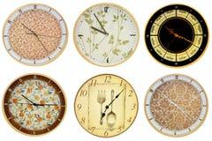 Wall clocks 3 Stock Photo