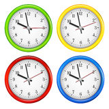 Wall clocks Stock Photography