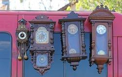 Wall Clocks Stock Photography
