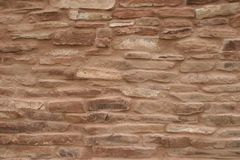 Wall closeup of Mission at Abo Pueblo, New Mexico Royalty Free Stock Photos