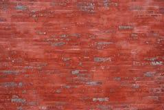 A wall. A closeup view of red brick wall Royalty Free Stock Photos